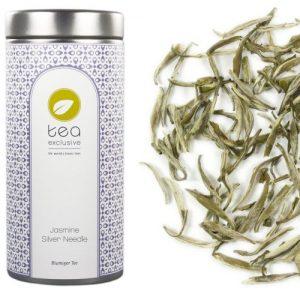 Hochwertiger Weisser Tee mit Jasmin aus China, von tea exclusive